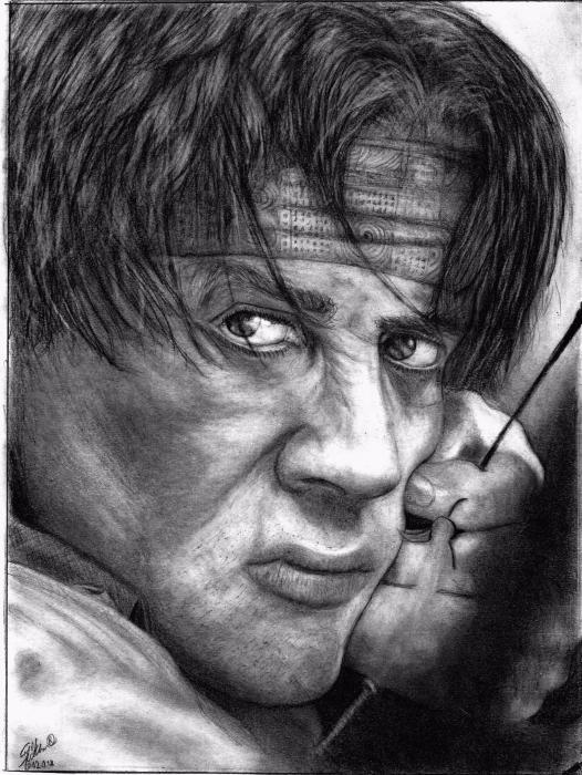 Sylvester Stallone por Zoli82